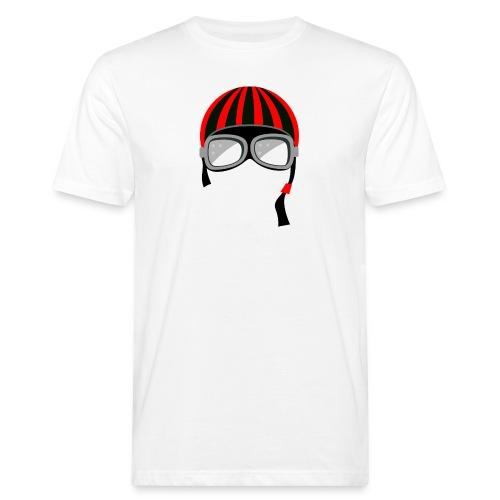 red_helmet-png - T-shirt ecologica da uomo