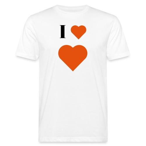 I Heart heart - Men's Organic T-Shirt