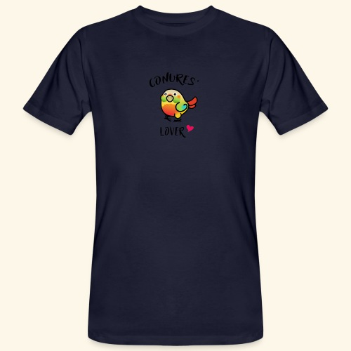 Conures' Lover: Ananas - T-shirt bio Homme