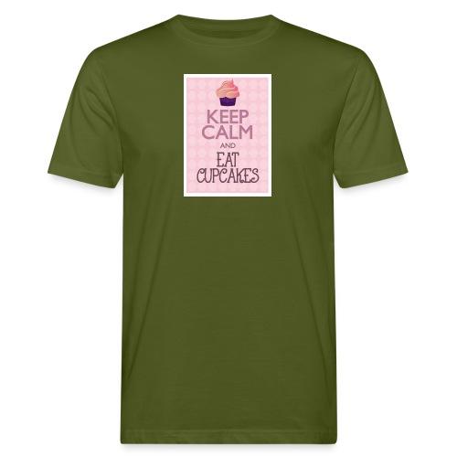 cupcake - T-shirt ecologica da uomo