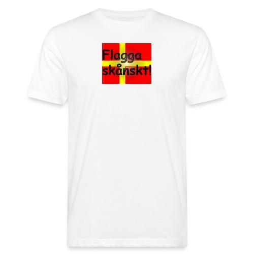 Flagga skånskt! - Ekologisk T-shirt herr