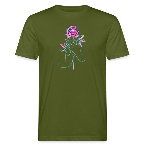 Fiore - T-shirt ecologica da uomo
