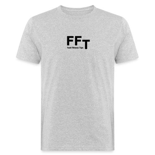 FFT simple logo letters - Men's Organic T-Shirt