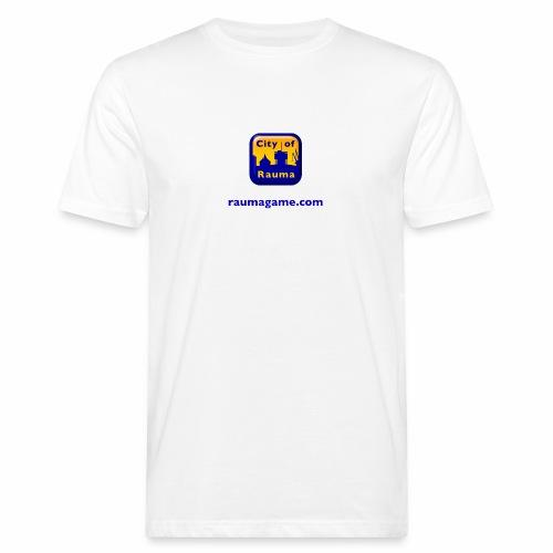 Raumagame logo - Miesten luonnonmukainen t-paita