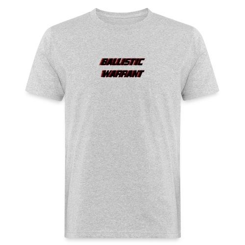 BallisticWarrrant - Mannen Bio-T-shirt