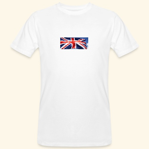 UK flag - Men's Organic T-Shirt