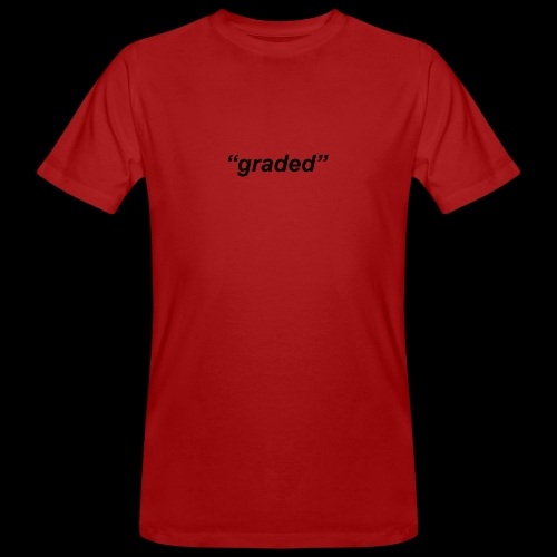 Simple Logo, Graded - Men's Organic T-Shirt