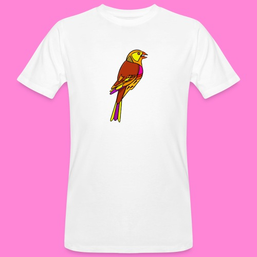 Geelgors illustratie - Mannen Bio-T-shirt