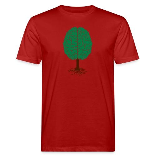 Brain tree - Mannen Bio-T-shirt