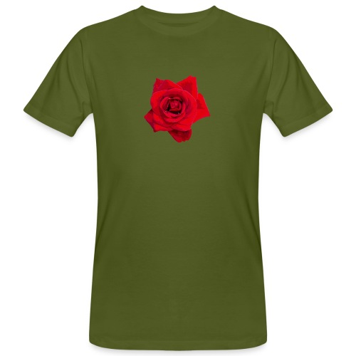 Red Roses - Ekologiczna koszulka męska