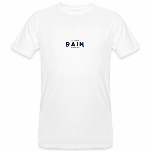 Rain Clothing Tops -ONLY SOME WHITE CAN BE ORDERED - Men's Organic T-Shirt