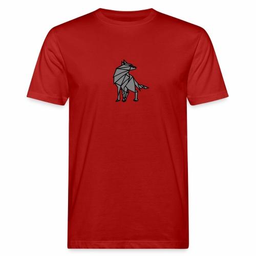 loup geometrique - T-shirt bio Homme