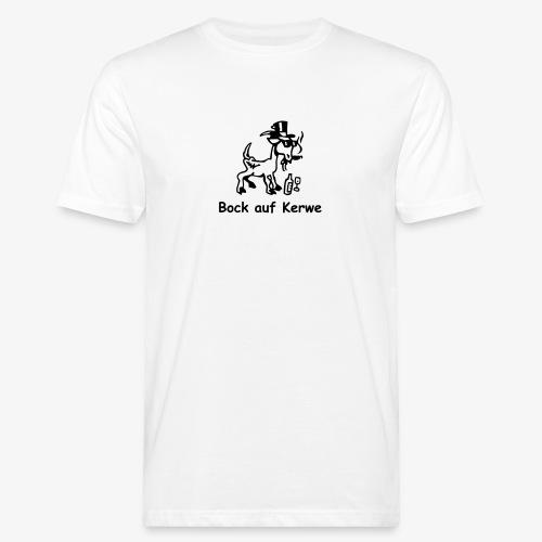 Bock auf Kerwe - Männer Bio-T-Shirt