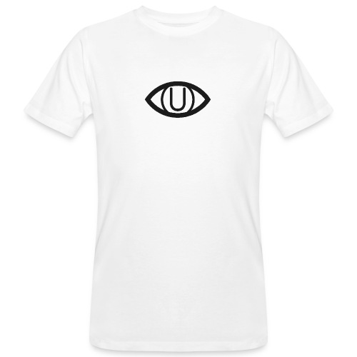 EYE SYMBOL BLACK - Men's Organic T-Shirt