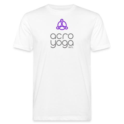AcroYoga International Logo - Men's Organic T-Shirt