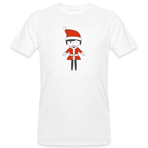 Doctora Retail Navidad - Camiseta ecológica hombre