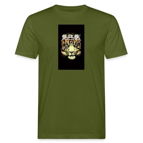 sas tiger wide jpg - Mannen Bio-T-shirt