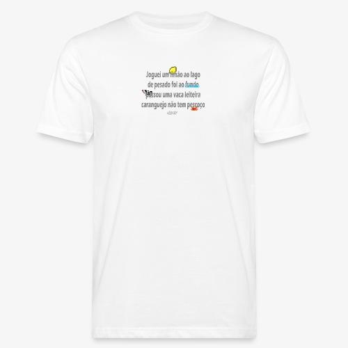 Versinho de infancia - Men's Organic T-Shirt