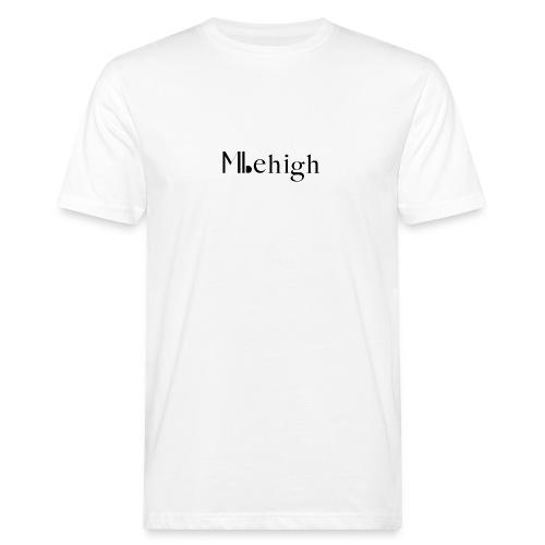 Milehigh Rags Logo Black - Økologisk T-skjorte for menn