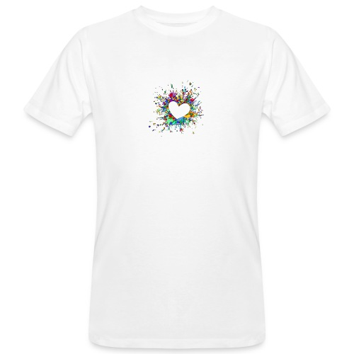 My heart explodes for you - Men's Organic T-Shirt