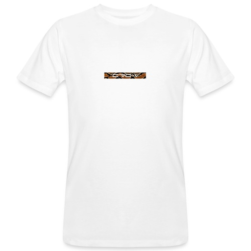 CROW TEXT SNAKE - Men's Organic T-Shirt