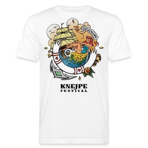 Knejpe Festival - stor tattoo med hvid tekst - Organic mænd