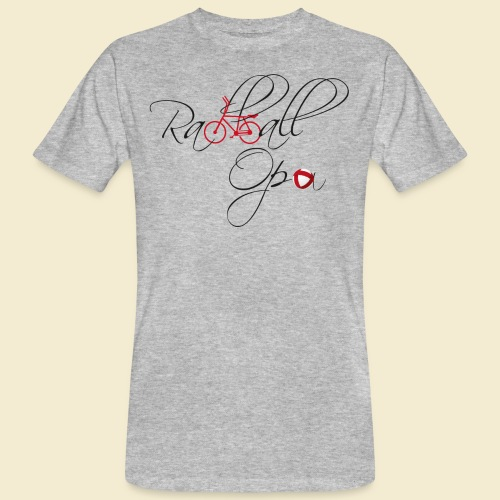 Radball   Opa - Männer Bio-T-Shirt