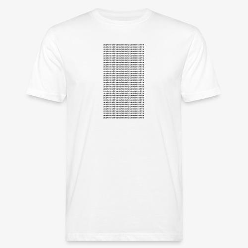 perception - Ekologiczna koszulka męska