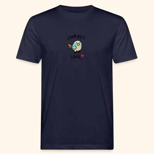 Conures' Lover: blue cinamon - T-shirt bio Homme