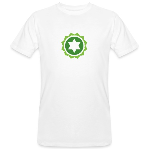The Heart Chakra, Energy Center Of The Body - Men's Organic T-Shirt