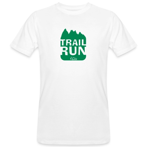 Trail Run - Männer Bio-T-Shirt