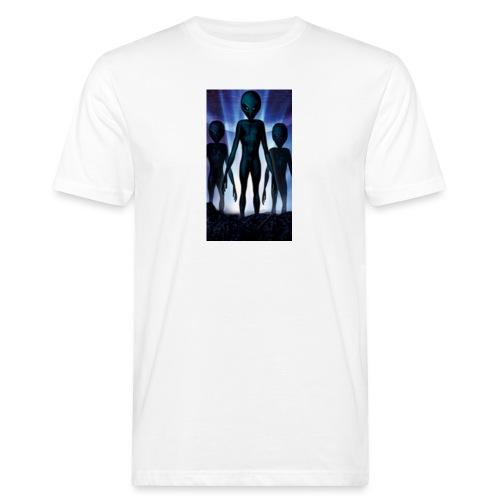 Alien 👽 - Männer Bio-T-Shirt
