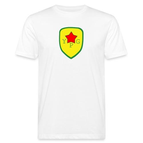 Unisex Red YPG Support Hoodie - Miesten luonnonmukainen t-paita