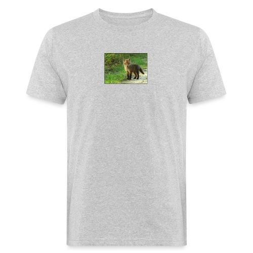 vossen shirt kind - Mannen Bio-T-shirt