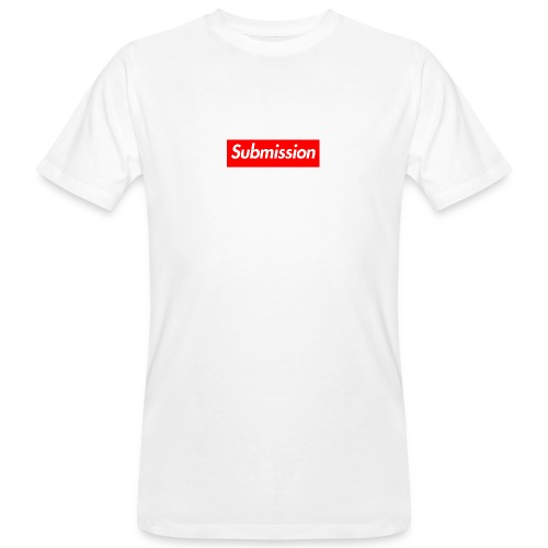 Submission Box Logo - Men's Organic T-Shirt