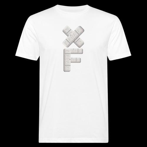 XF Xanax Logo - Männer Bio-T-Shirt