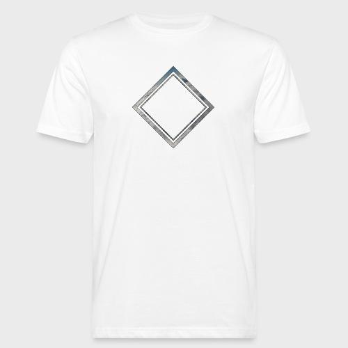 Cloud Square - Männer Bio-T-Shirt