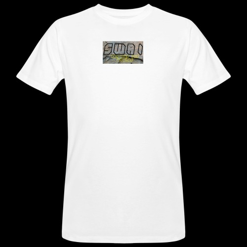 swai stoned boxlogo - Männer Bio-T-Shirt
