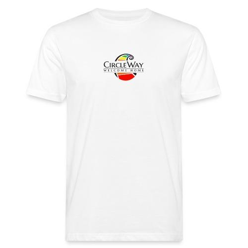 Circleway Welcome Home Logo - schwarz - Männer Bio-T-Shirt