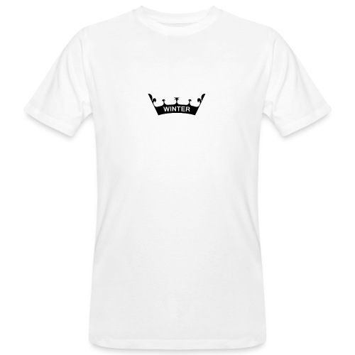 winter_crown - Männer Bio-T-Shirt