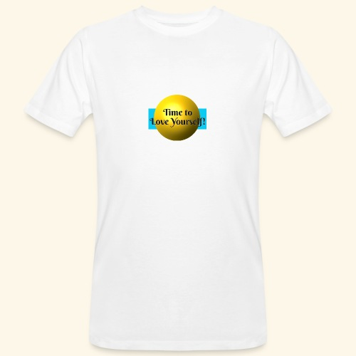 Time to Love Yourself - Männer Bio-T-Shirt