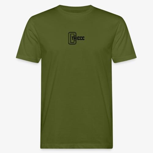 thiccc logo White - Men's Organic T-Shirt