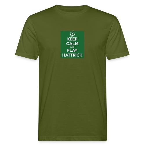 keep calm and play hattrick - T-shirt ecologica da uomo