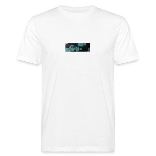 Extinct box logo - Men's Organic T-Shirt