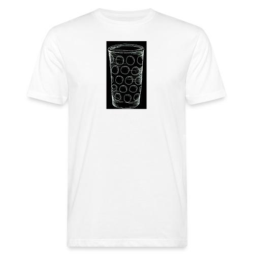 Leergut Dubbeglas -schwarz - Männer Bio-T-Shirt