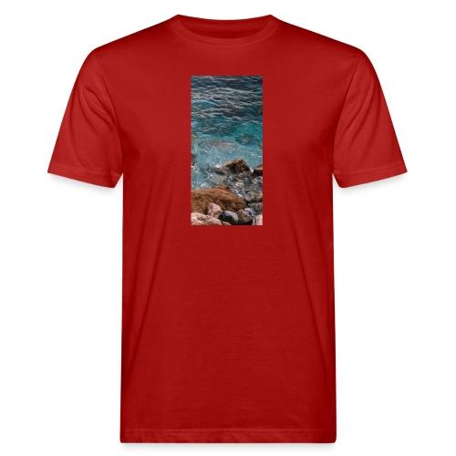 iPhone 4/4s Hard Case mit Wellenmotiv - Männer Bio-T-Shirt