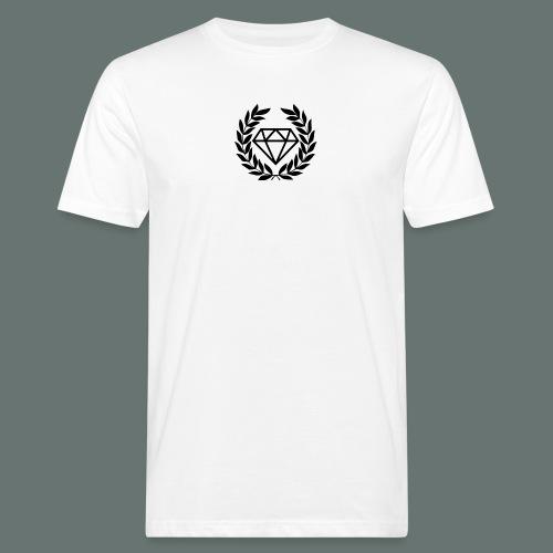Black diamond Logo - Men's Organic T-Shirt