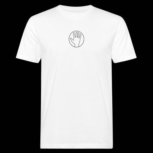 Helping Hand - Miesten luonnonmukainen t-paita