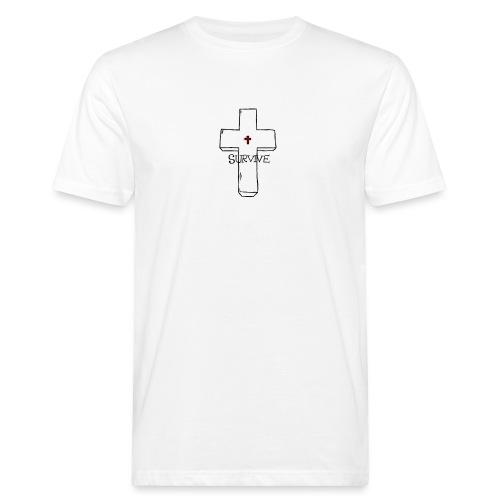 survive - Miesten luonnonmukainen t-paita