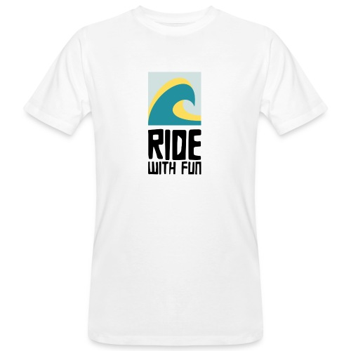 RWF Logo black - Männer Bio-T-Shirt